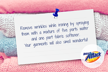 Tips - Remove Wrinkles