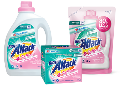 Biozet Attack PLUS Softener Product Set
