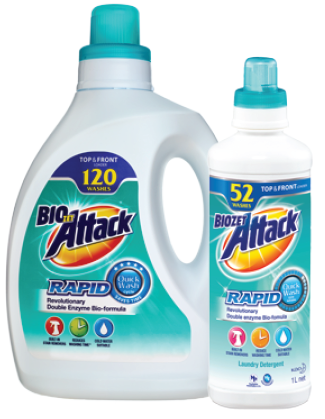 Biozet Attack Rapid Quick Wash Product Set