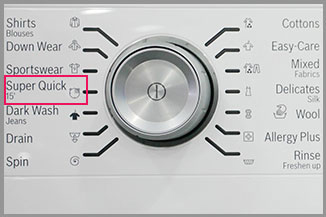 Washing Machine Example 1