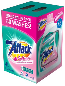 Biozet Attack PLUS Softener Value Pack